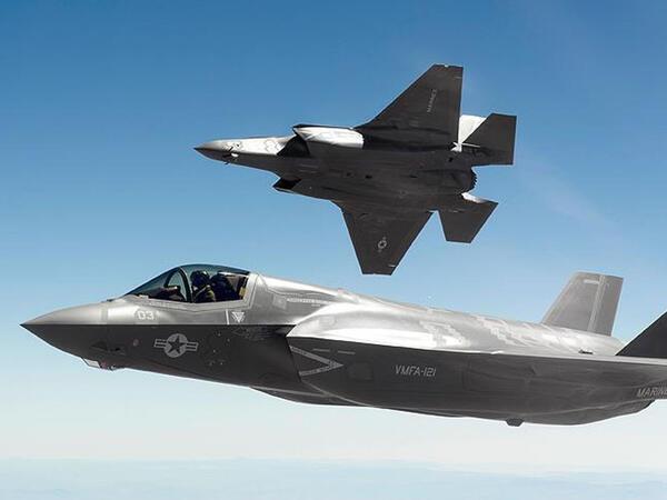 ABŞ F-35-ləri Avropaya göndərir