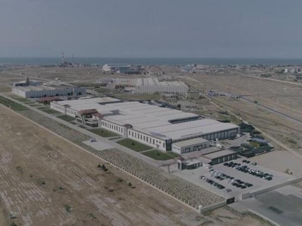 """Sumqayıt Kimya Sənaye Parkının ərazisi genişləndirildi - <span class=""""color_red"""">VİDEO</span>"""