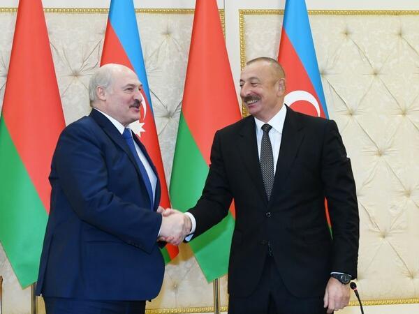 Prezident İlham Əliyev: Belarus bizim dostumuz, sınaqdan çıxmış tərəfdaşımızdır
