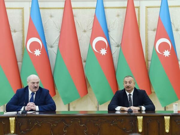 Belarus ilə Azərbaycan arasında münasibətlərin strateji xarakterini bir daha təsdiq etdik - Aleksandr Lukaşenko