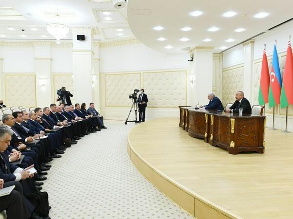 Bizim razılığa gəldiyimiz bütün məsələlər reallaşacaq - Belarus Prezidenti