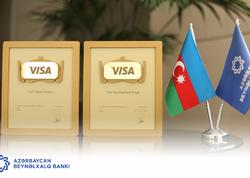VISA Azərbaycan Beynəlxalq Bankını 2 dəfə mükafatlandırdı