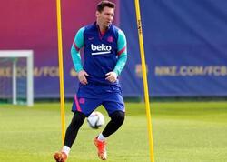 Messi yeni imici ilə diqqət çəkdi - FOTO