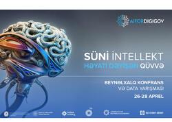 Azərbaycan Beynəlxalq Bankından süni intellekt sahəsində beynəlxalq konfransa dəstək