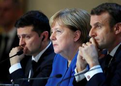 Merkel, Makron və Zelenski Rusiyaya çağırış etdilər