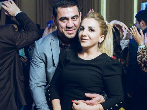 Zenfira həyat yoldaşı və oğlu ilə - FOTO