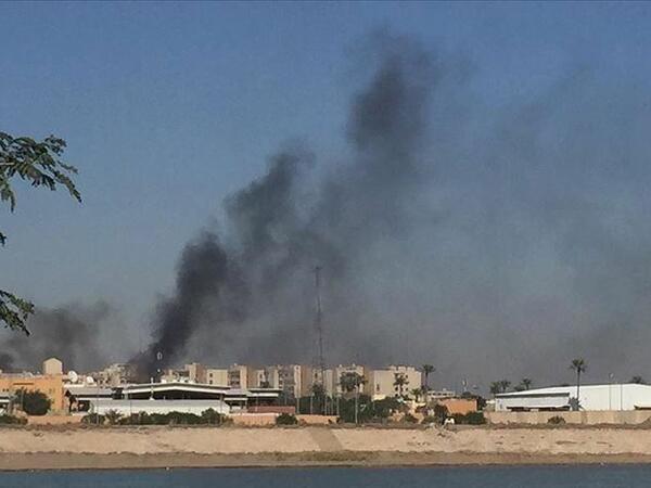 İraqda hərbi baza raket hücumuna məruz qalıb