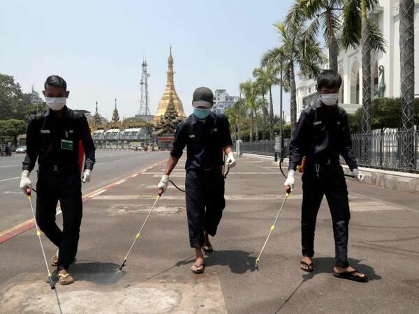 Myanmada toqquşmalarda ölənlərin sayı 737-ə çatıb