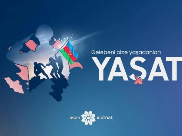 """""""YAŞAT""""ın əməkdaşları 2881 şəhid ailəsini ziyarət ediblər"""