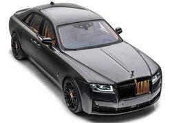 Mansory yeni Rolls-Royce Ghost sedanı üçün tüninq dəstini hazırlayıb - FOTO