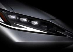 Lexus şirkəti yenilənmiş ES sedanını Şanxayda təqdim edəcək - VİDEO