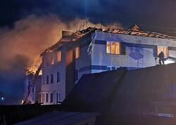 Rusiyada evdə qaz partlaması nəticəsində 8 nəfər yaralanıb