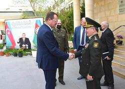 Andrey Ravkov Respublika Veteranlar Təşkilatında qonaq olub - FOTO
