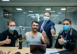 Qolları amputasiya olunmuş qazilərin protezlərlə təminatına başlanır - FOTO
