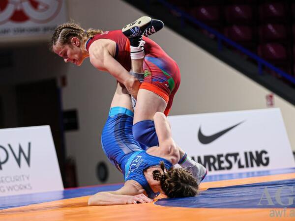 Mariya Stadnik Avropa çempionatının finalında - FOTO