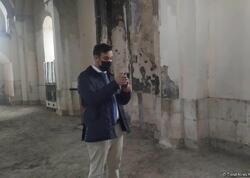Ağdamda tarixi abidələrin vandalizmə məruz qaldığını gördük - Yasin Yakuti