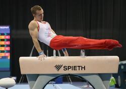 Azərbaycanlı idmançı bədii gimnastika üzrə Avropa çempionatının finalına çıxıb