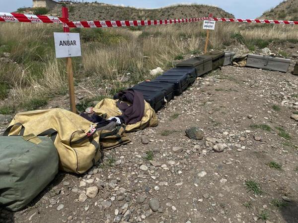 Ermənilər Suqovuşan ərazisinə daha çox plastik mina basdırıb -