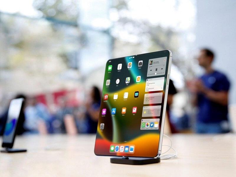 Apple yeni qatlana bilən smartfon dizaynını patentləşdirib