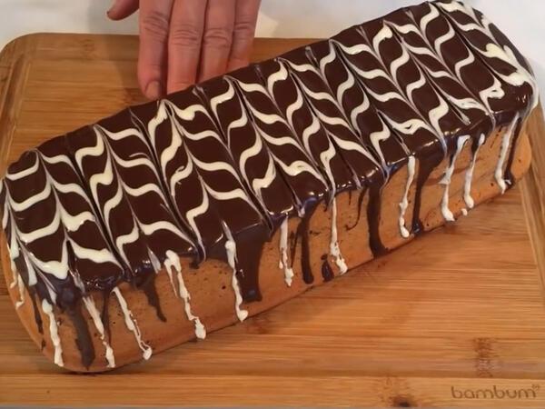 "Şokoladlı keks - <span class=""color_red"">VİDEO</span>"