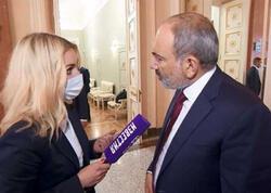 Rus jurnalist Paşinyanı çaş-baş qoydu