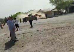 Taciklər qırğızların evlərini belə dağıdıblar - VİDEO