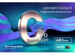 Bank Respublika Ramazan bayramı öncəsi kampaniyaya start verib