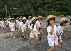 Yaponiyada uşaqların sayı son 40 ilin ən aşağı həddinə düşüb