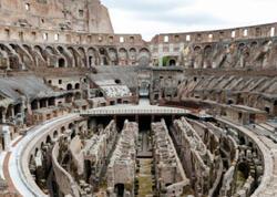Roma Kolizeyinin arenası yüksək texnologiyalar əsasında bərpa olunacaq - FOTO