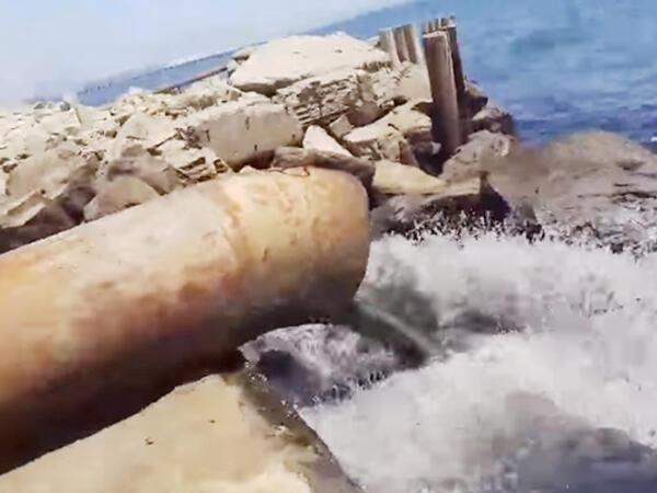 Boru vasitəsilə dənizə çirkab axıdanlar kimdir?