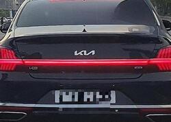 Yenilənmiş Kia K9 modelinin kamuflyajsız şəkilləri peyda olub - FOTO
