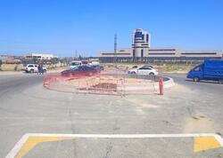 Bakı-Sumqayıt yolu bağlandı - Yenidənqurma işləri aparılır - FOTO