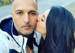 Azərin üçüncü həyat yoldaşı qızı ilə - FOTO