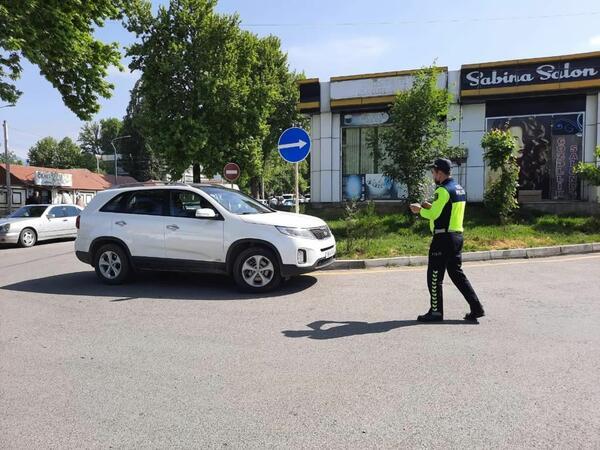 Yol polisi İsmayıllıda reyd keçirib - FOTO