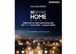 Samsung sizi Bespoke Home yeni məişət texnikasının təqdimatına dəvət edir