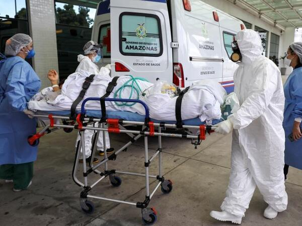 Braziliyada koronavirusdan daha 1 024 nəfər ölüb