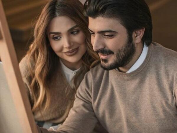 Aktrisa Ülviyyə oğlu Fuad ilə - FOTO