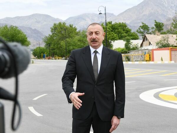 Prezident İlham Əliyev: Rusiya Ermənistanın dəmir yollarına sahibdir, bu məsələni daha çox Rusiya tərəfi ilə müzakirə edirik