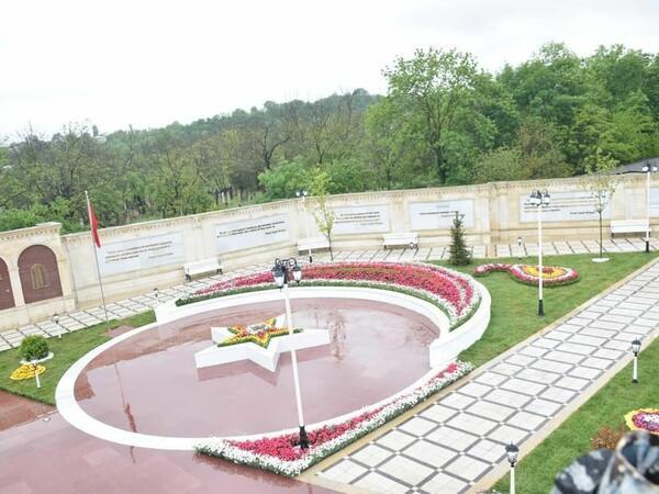 """Qubada """"Azərbaycan-Türkiyə Qardaşlıq Parkı""""""""nın açılışı olub - FOTO"""