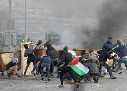 İsrail polisi ilə toqquşmalarda 610-dan çox fələstinli yaralanıb