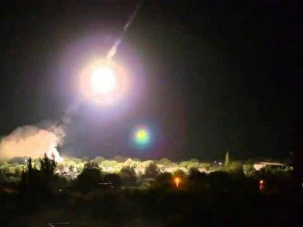 Təl-Əviv və ətrafları istiqamətində 130 raket buraxılıb