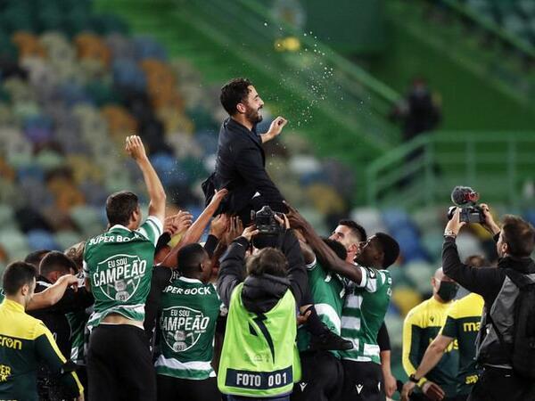 """""""Sportinq"""" futbol üzrə Portuqaliya çempionu oldu"""
