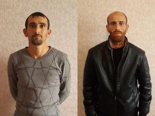 5 min manatlıq siqaret oğurlayan əmioğlular saxlanıldı - FOTO