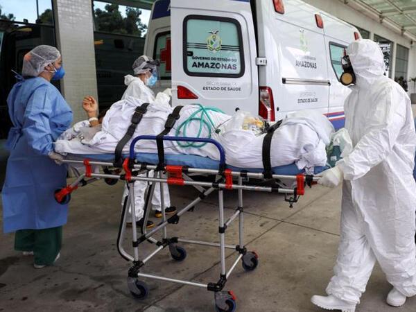 Braziliyada koronavirusdan daha 2 494 nəfər ölüb