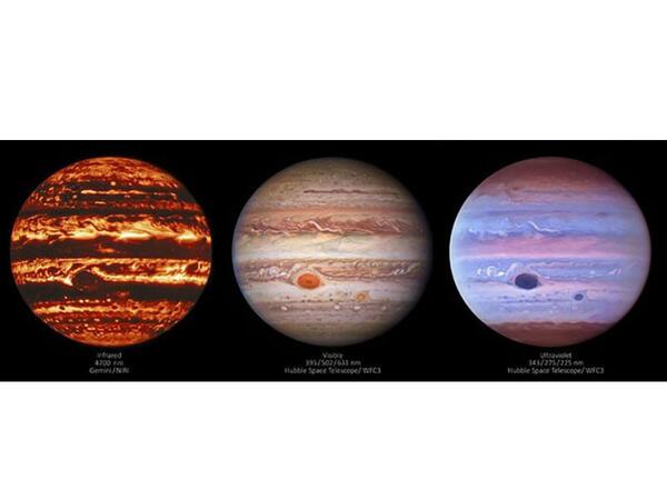 Astronomlar Yupiterin qeyri-adi təsvirlərini əldə ediblər