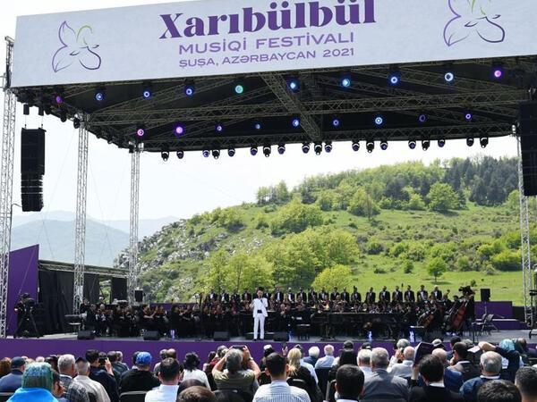 """""""Şuşada 30 ildən sonra """"Xarıbülbül"""" festivalının keçirilməsi dünyaya bir mesaj idi"""""""