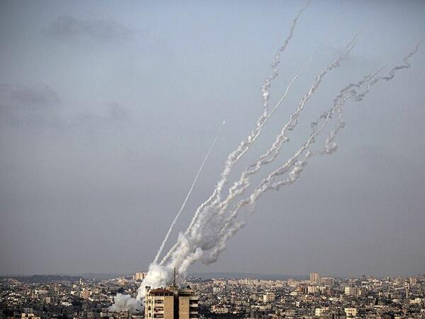 Qəzza zolağından İsrail ərazisinə 2,8 mindən artıq raket atılıb