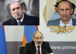 """Paşinyan kimin mənəvi oğludur, <span class=""""color_red"""">Ter-Petrosyanın, yoxsa Robert Köçəryanın?</span>"""