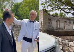 """Polad Bülbüloğlu Şuşada ata evinin bərpası haqqında danışdı - <span class=""""color_red"""">VİDEO</span>"""