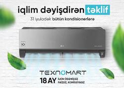 Texnomart-dan yay gəlməmiş yeni fürsətlər gəlir!